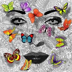 Hintergrund | Schmetterling 2