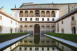 Patio de los Arrayanes inside Palacio Nazaries, Alhambra