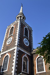 St Mary's Church in Rotherhithe, London.