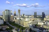 Fototapety Warsaw aerial view