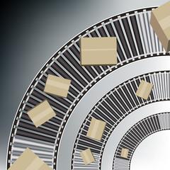 Arc Conveyor Belt Boxes