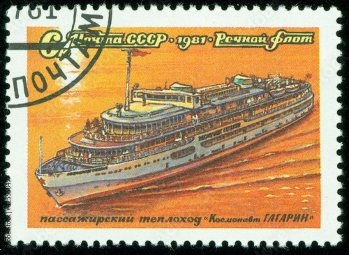 Passenger steam ship Cosmonaut Gagarin