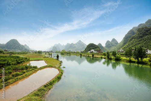 china yangshuo scenery