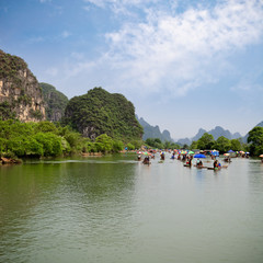 the yulong river rafting