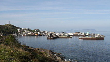 Mallaig harbour Scotland