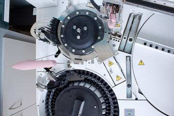 Lab analyzing equipment