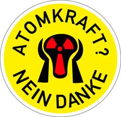 ATOMKRAFT – NEIN DANKE