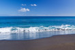 plage de sable noir, l'Etang-Salé, la Réunion