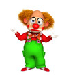 3d clown