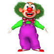 cartoon clown