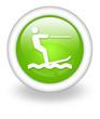 "Light Green Icon ""Water Skiing"""