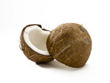 split coconut