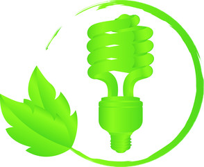 Icon Energie Sparlampe