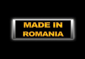 Made in Romania.