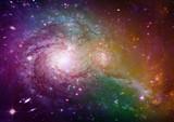 Fototapeta astronomia - tło - Światło / Cień