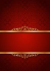Kırmızı yazı zemini