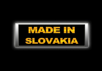 Made in Slovakia.