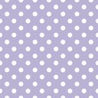 Retro seamless vector pattern, polka dots on violet background
