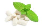 Chewing-gum à la menthe - 42564863