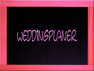 tafel: weddingplaner, hochzeitsplaner, organisation