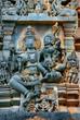 Wandrelief, Chennakesava-Temple, Belur, Indien