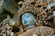 Detail Statue, Hoysaleshwara-Temple, Halebid, Indien
