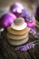 Steinstapel, Lavendel