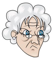 Suspicious Old Woman