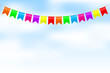 Vector illustration of colorful bunting