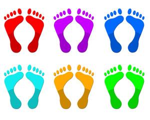 Plaquette de pieds