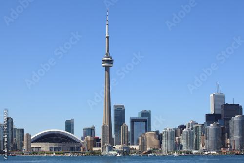 In de dag Canada Toronto skyline