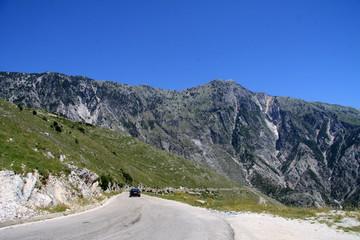 Am Llogara-Pass (Albanien)