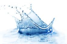 "Постер, картина, фотообои ""Fresh water splash"""