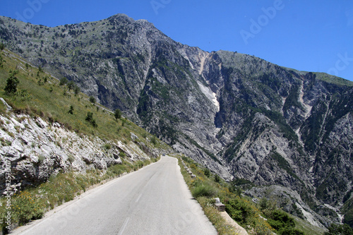 Am Llogara-Pass (Albanien)