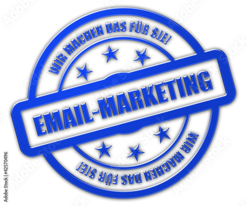 Sternen Stempel blau glas rt WMDFS EMAIL-MARKETING