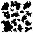 Silhouettes - German States (I)