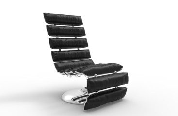 Modern Leather Relaxing Armchair 2