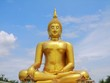 big golden Buddha statue