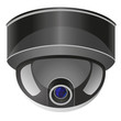 video surveillance camera vector illustration