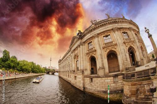 Fototapeten,architektur,berlin,blau,brandenburger
