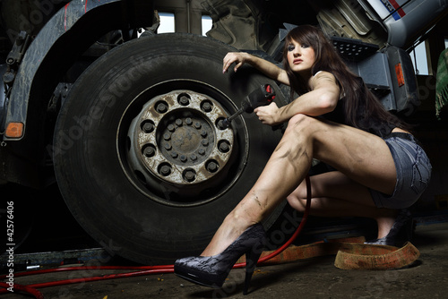 The sexy Mechanic