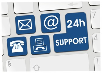 clavier 24h support