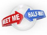 Meet Me Half-Way Arrows Compromise Settlement poster