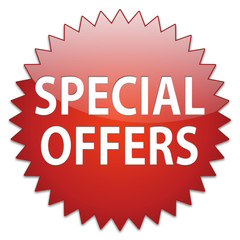 sticker red special offers
