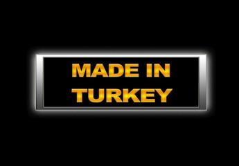 Made in Turkey.