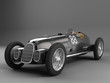 Antique Sport car Black
