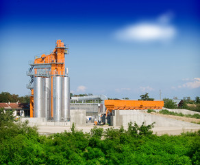 Asphalt factory