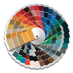 Color palette guide.