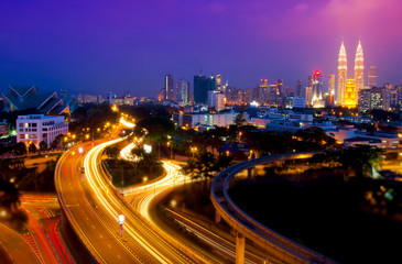 Scenery of Kuala Lumpur