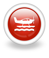 "Light Red Icon ""Sea Plane"""